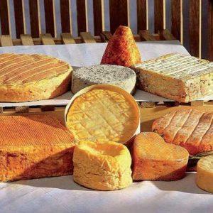 Gewassen korst kaas