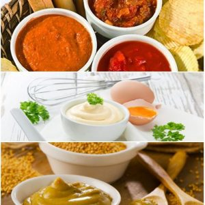 Mosterd, Mayonaise & Dips